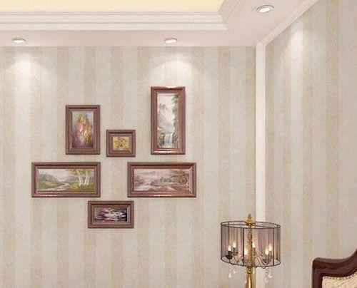 客厅墙纸装修效果图 颜色如何搭配