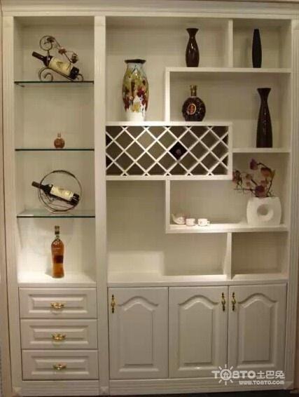 不同类型酒柜设计效果图 看看功能多强大