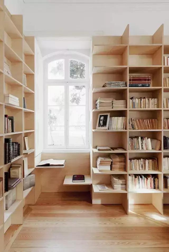 最具创意卧室书架效果图大全