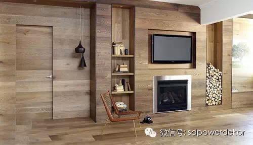 木地板装修墙面效果图欣赏