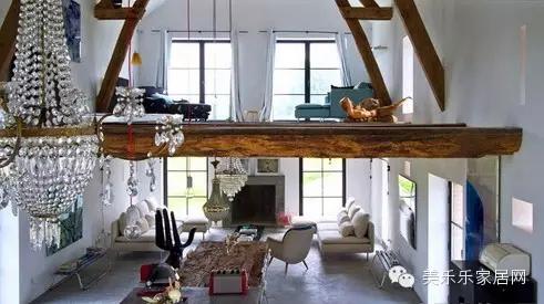 小复式楼装修设计 享受住别墅的感觉