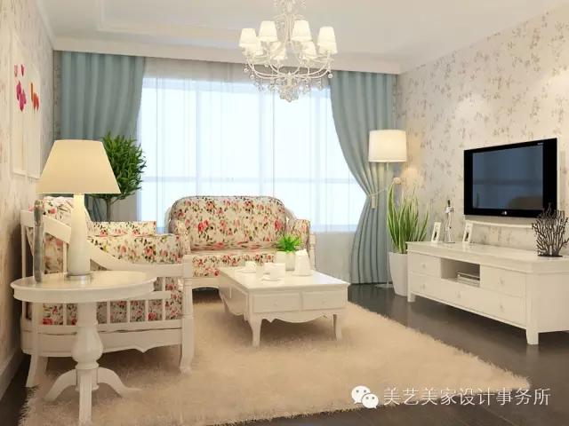 韩式风格装修效果图 散发自然优雅氛围