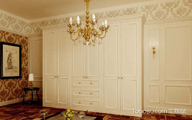 欧式衣柜门装修效果图及保养方法