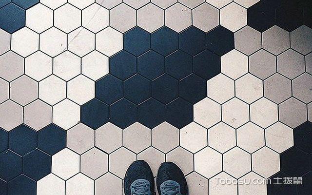 防水地板砖的框式花纹多样