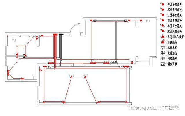 室内装修布线图 明确施工规范