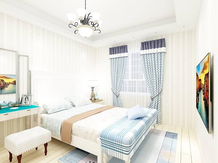 小清新设计,室内的夏日清风(峰光无限装饰公司)