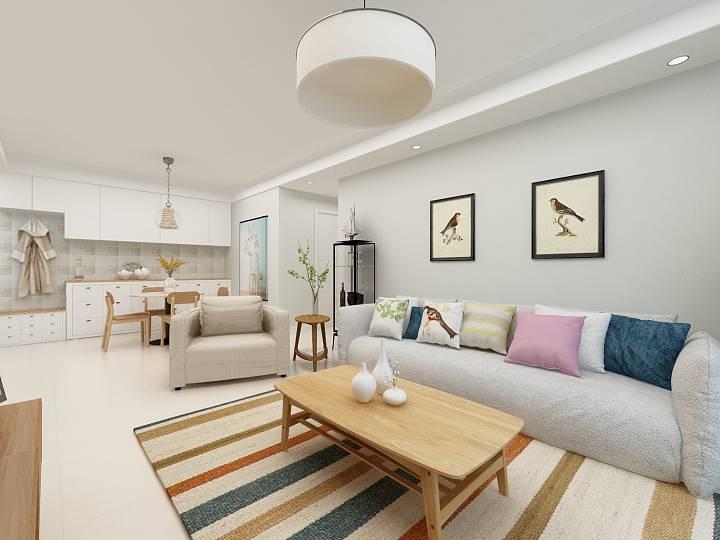 实用家装设计案例—— 小清新设计,室内的夏日清风