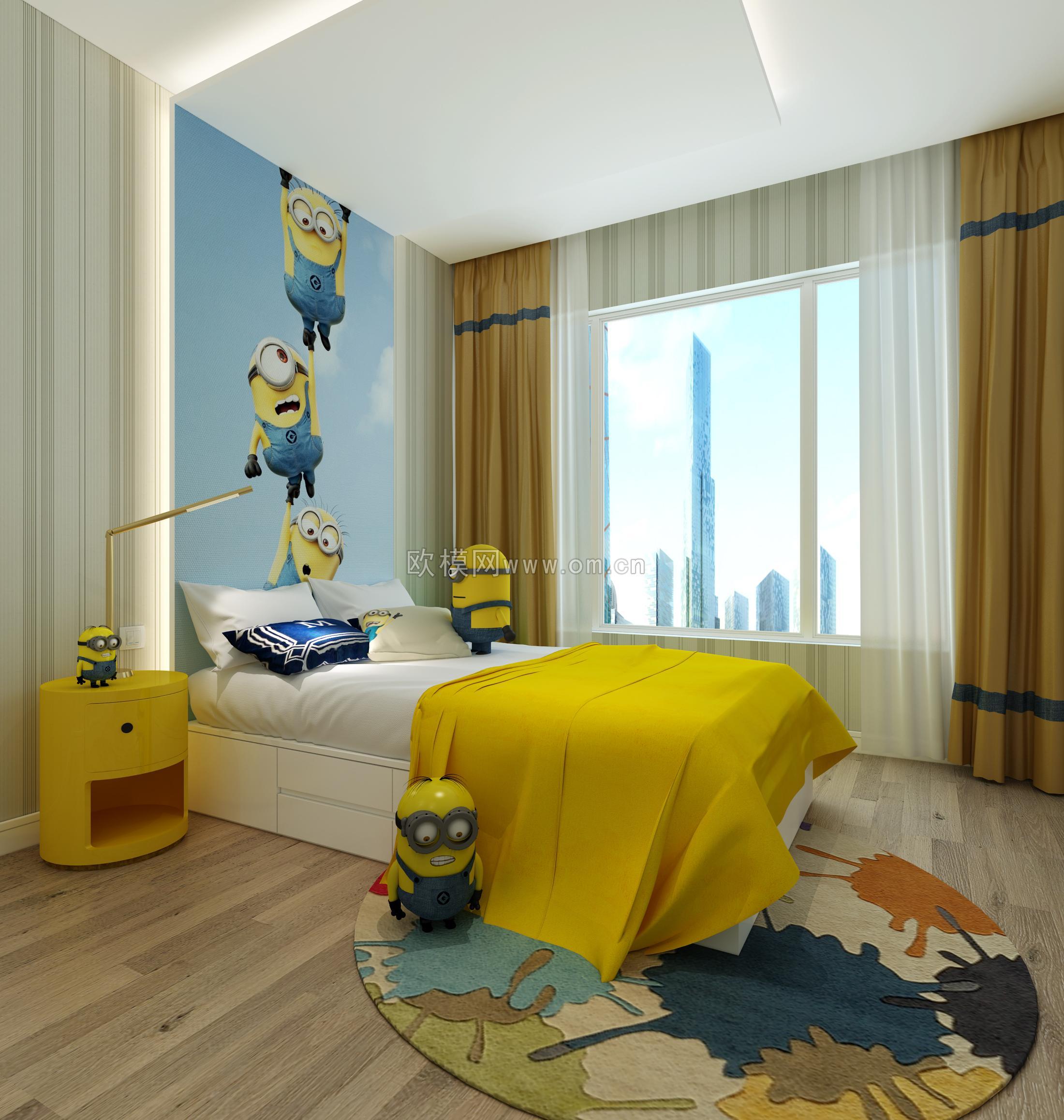 室内设计3d效果图