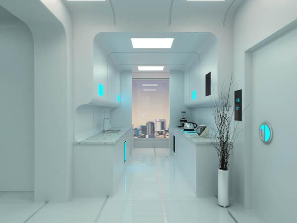 六大智能家居设计,未来生活居然这么酷炫!图片