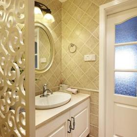 卫生间干湿分离设计案例