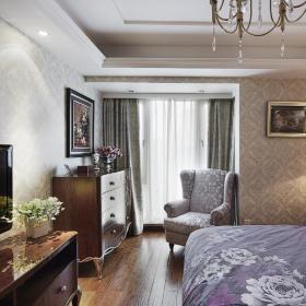 欧式新古典卧室装修图