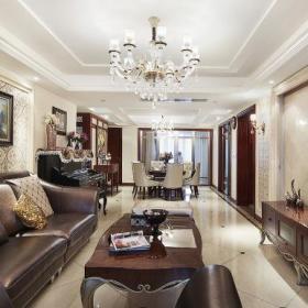 欧式新古典客厅设计案例展示