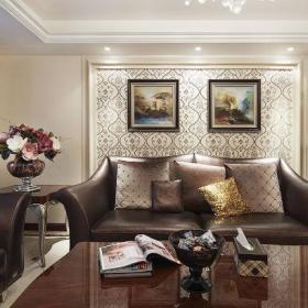 欧式新古典客厅设计图