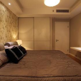 现代简约中式清新卧室装修效果展示