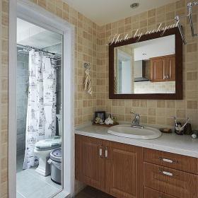 卫生间干湿分离装修案例