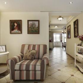 田园美式混搭客厅图片