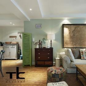 美式复古客厅案例展示