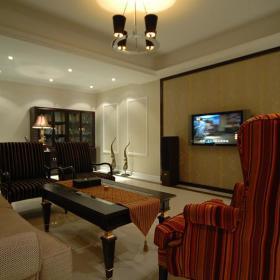 欧式新古典客厅设计案例