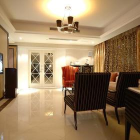 欧式新古典客厅装修效果展示