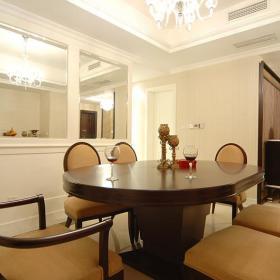 欧式新古典餐厅图片