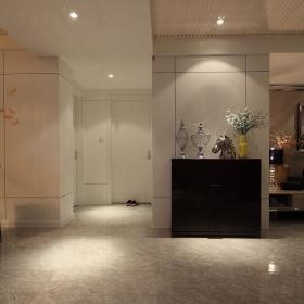 现代简约玄关玄关柜装修案例