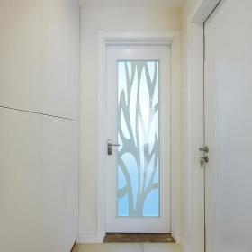 现代简约玄关玄关柜装修效果展示