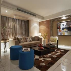 现代简约北欧客厅设计方案