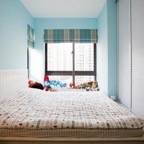 美式混搭卧室效果图