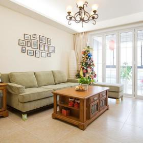 美式混搭客厅设计图