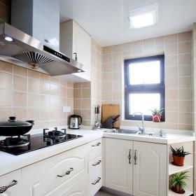 美式混搭厨房装修图
