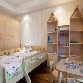 新古典美式混搭精致卧室图片