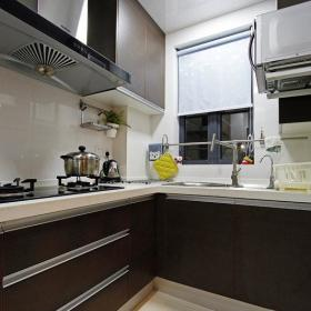 现代简约欧式厨房设计图