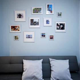 现代简约书房图片