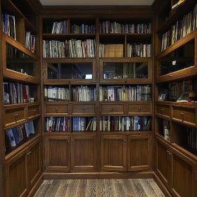 书房书架设计案例