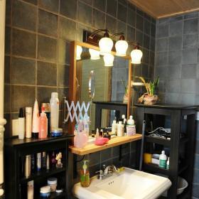 现代简约田园美式卫生间图片