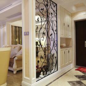 欧式玄关隔断玄关柜设计方案
