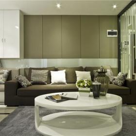 现代简约客厅设计案例