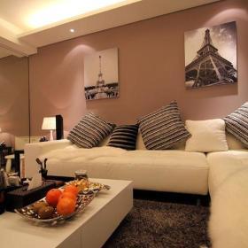 现代简约欧式客厅装修案例