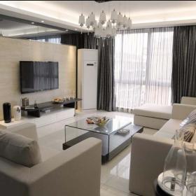 简欧精致后现代客厅设计案例展示