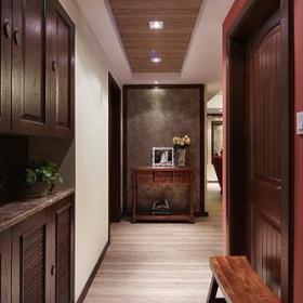 现代简约美式玄关玄关柜设计图