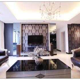 欧式新古典客厅案例展示