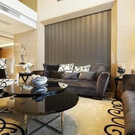 后现代客厅装修效果展示