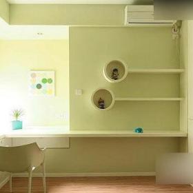 现代简约韩式书房设计案例