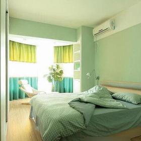 现代简约韩式卧室装修效果展示