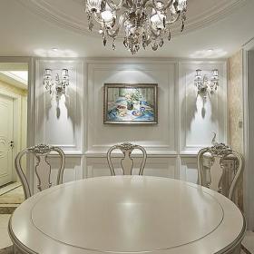 白色新古典与简欧演绎我们的家