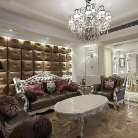 欧式新古典客厅设计方案