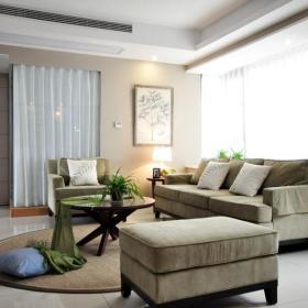 现代简约美式客厅设计案例展示
