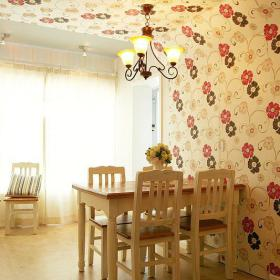 田园韩式混搭餐厅设计案例