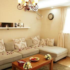 田园韩式混搭客厅设计案例