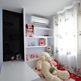 现代简约韩式儿童房设计图